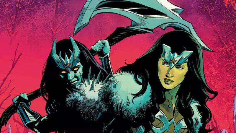 Wonder Woman: Ragnarok. Amazonka będzie ratować Asgard - jest też wiewiórka