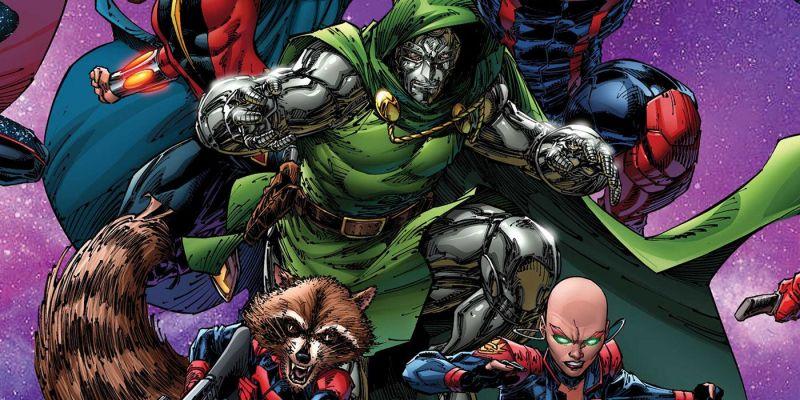 Strażnicy Galaktyki - Doktor Doom dołącza do grupy. Star-Lord został ojcem