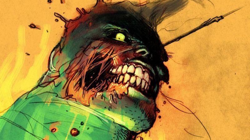 Marvel - oto pierwszy Hulk! Ma poroże i szpony; jest tu nawet kanibalizm