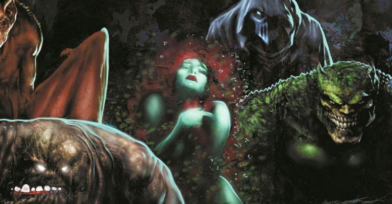 Batman: Reptilian - rysunki w nadchodzącym komiksie to arcydzieło. Oceńcie sami
