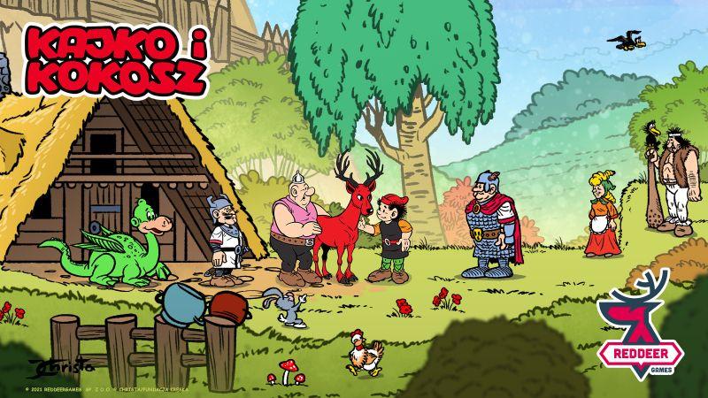 Kajko i Kokosz - powstaną gry z bohaterami kultowych polskich komiksów
