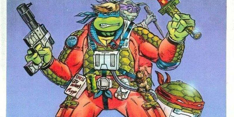 Wojownicze Żółwie Ninja jako Jedi, Chewbacca i inni. Te grafiki zadziwiają