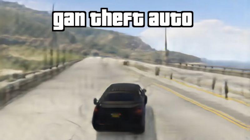 GAN Theft Auto - sztuczna inteligencja zrekonstruowała GTA V