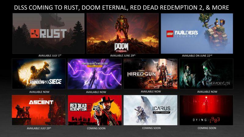 NVIDIA DLSS zadebiutuje w kilku nowych grach i trafi na Linuxa