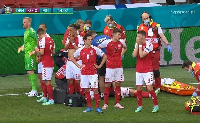 Studio TVP Sport w ogniu krytyki po zasłabnięciu duńskiego piłkarza