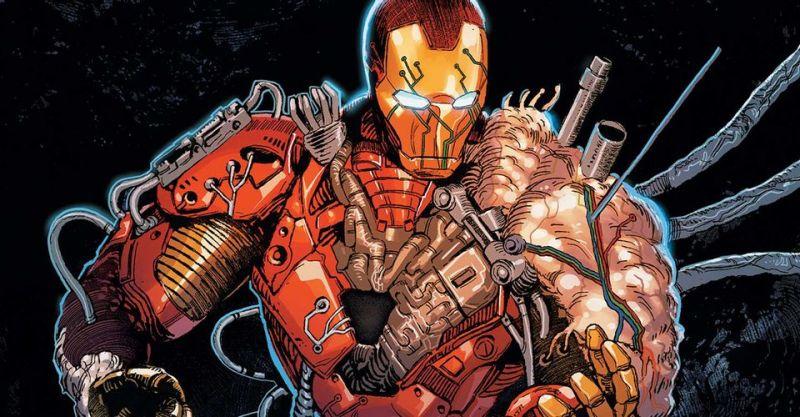 Marvel - oto obrzydliwa zbroja Iron Mana jak z body horroru. Stark przeczyta Darkhold