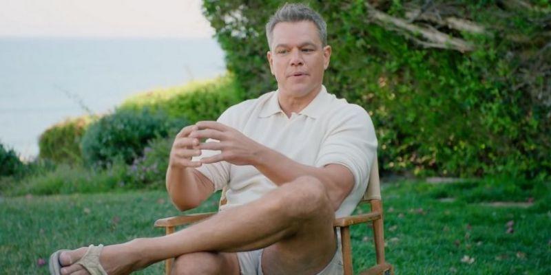Matt Damon ma tatuaż związany z Heathem Ledgerem