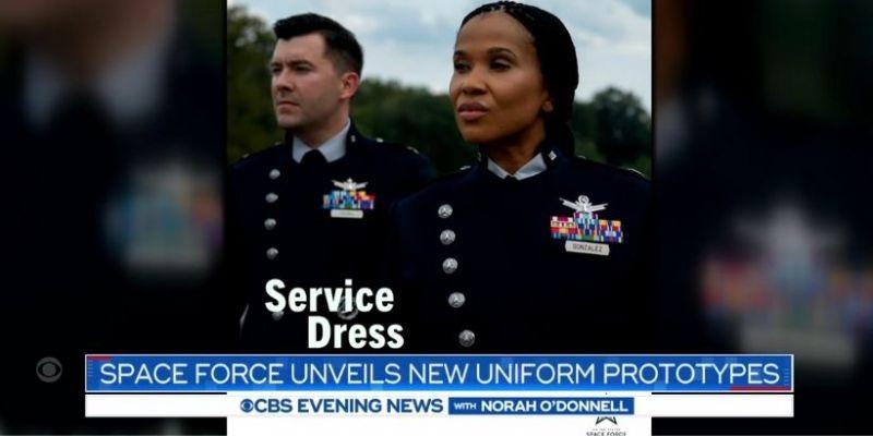 Nowe mundury sił kosmicznych jak ze Star Treka i Battlestar Galactica. Podobne?