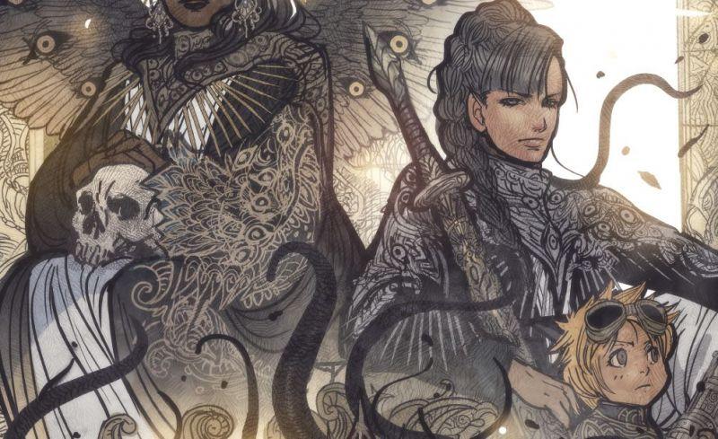 Non Stop Comics w październiku: zobacz okładki i plansze z komiksów