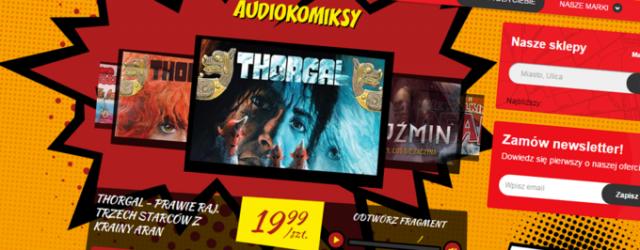 """""""Thorgal"""", """"Żywe Trupy"""" czy """"Kajko i Kokosz"""" w formie audiobooków trafią do Biedronki"""