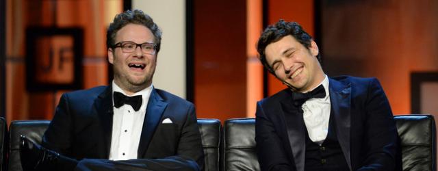 """James Franco i Seth Rogen nago w programie """"Nagi instynkt przetrwania"""""""