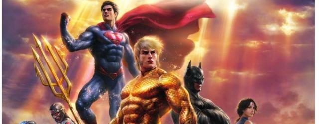 "Data premiery ""Justice League: Throne of Atlantis"""