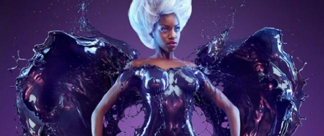 Superbohaterki i kostiumy z płynnej farby – zobacz świetne zdjęcia