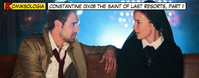 """""""Constantine"""" 01×08 – odwołania do komiksów"""