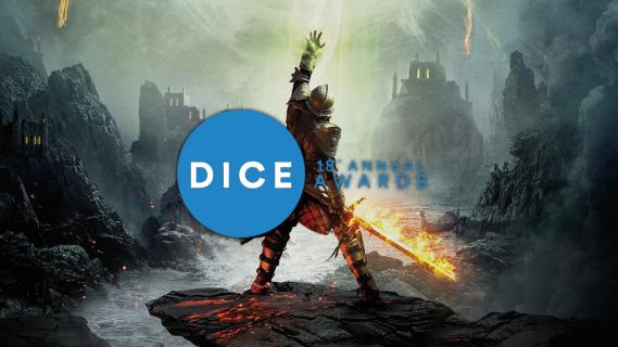 """""""Dragon Age: Inkwizycja"""" grą roku na DICE Awards"""