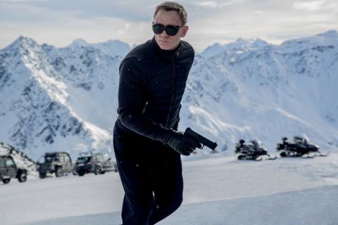 """""""Spectre"""" – oficjalny film z planu i zdjęcie Jamesa Bonda"""