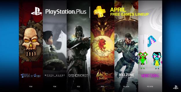 PlayStation Plus na kwiecień nie porywa zawartością