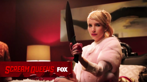 """""""Scream Queens"""": sezon 1, odcinek 1 i 2 – recenzja"""