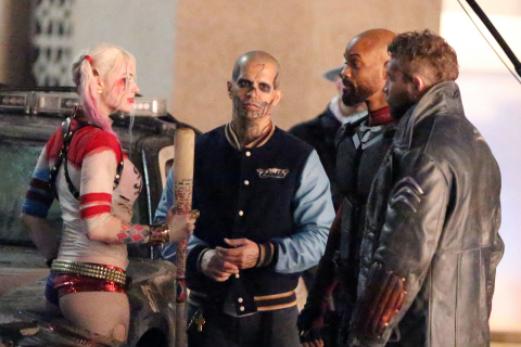 "Harley Quinn i Deadshot. Kolejne zdjęcia z planu ""Suicide Squad"""