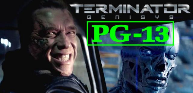 """""""Terminator: Genisys"""" – film najprawdopodobniej z kategorią wiekową PG-13"""