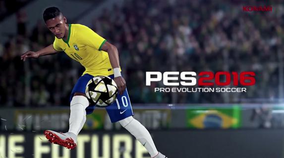 "Neymar twarzą ""Pro Evolution Soccer 2016"""