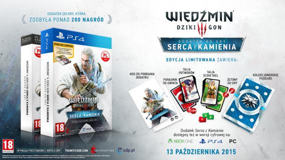 """""""Wiedźmin 3: Dziki Gon"""" – nowe szczegóły DLC """"Serca z kamienia"""""""