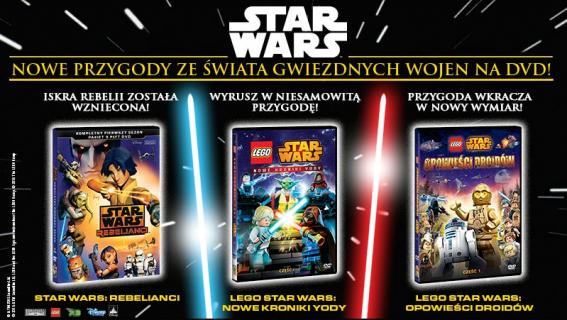 """""""LEGO Star Wars: Nowe kroniki Yody"""" część 1 i 2 już na DVD"""