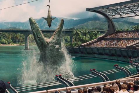 """Mozazaur w Londynie – nietypowa akcja promocyjna """"Jurassic World"""""""
