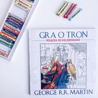 Gra o tron. Książka do kolorowania – recenzja