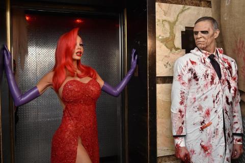 Halloween 2015 – aktorzy w kostiumach