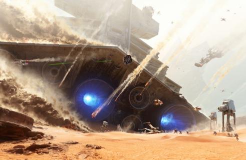 Oto Bitwa o Jakku ze Star Wars Battlefront – zwiastun