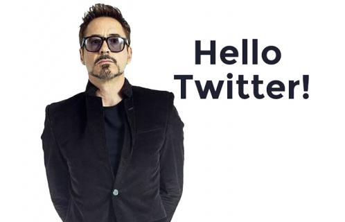 Robert Downey Jr. w mediach społecznościowych