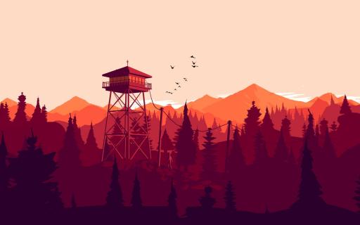 Firewatch: Strażnik samotności – recenzja
