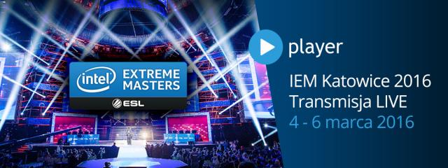 Mistrzostwa świata gier komputerowych IEM 2016 w Player.pl
