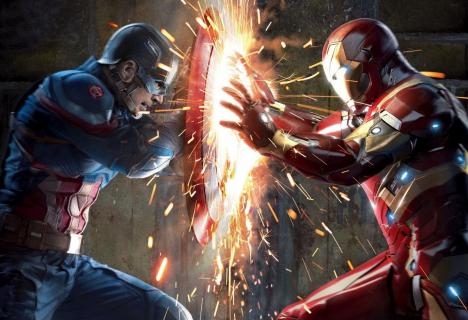 Komiksologia: Kapitan Ameryka: Wojna bohaterów – odniesienia do komiksów
