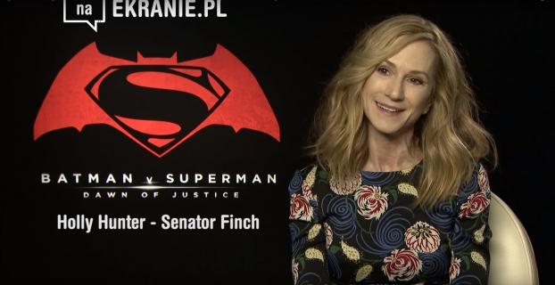 Holly Hunter dla naEKRANIE.pl – obejrzyj wywiad z senator Finch z Batman v Superman