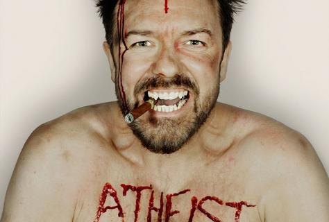 Ricky Gervais w mediach społecznościowych