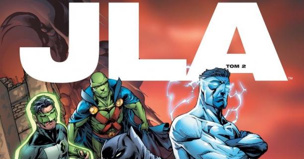 Amerykańska Liga Sprawiedliwości – plansze z 2. komiksu o JLA