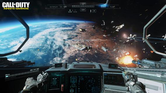 Mirosław Hermaszewski o kosmosie. Zobacz materiał promujący CoD: Infinite Warfare
