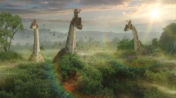 QUIZ: Skąd jest ten dinozaur?