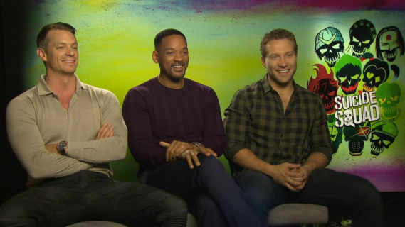 Will Smith, Joel Kinnaman i Jai Courtney dla naEKRANIE.pl. Obejrzyj wywiad z gwiazdami Legionu samobójców!