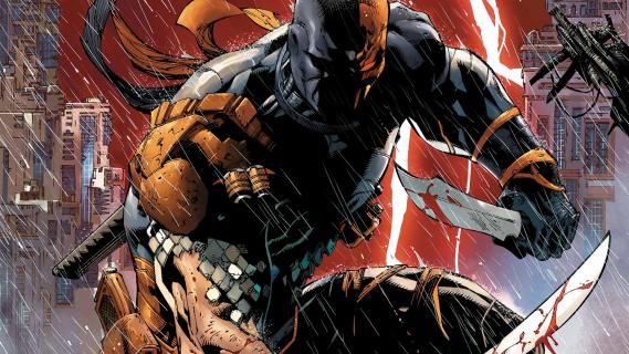 Gdzie znajduje się Deathstroke w materiale z Justice League?