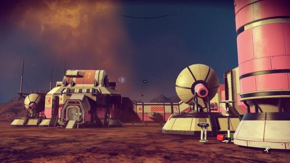 No Man's Sky jako mod do gry Doom