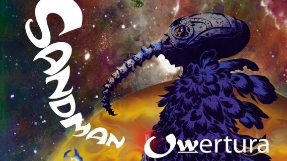 Obejrzyjcie plansze z komiksu Neila Gaimana pt. Sandman. Uwertura