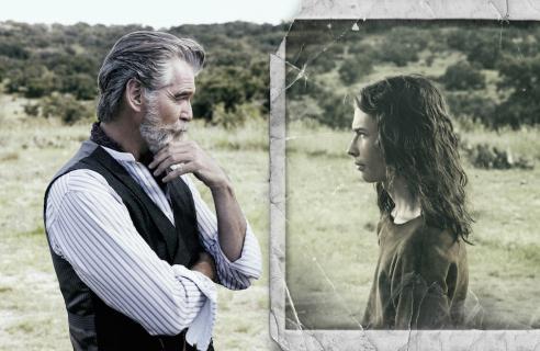 Pierce Brosnan na nowych zdjęciach z serialu AMC pt.: The Son