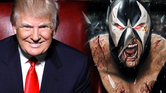 Twórcy postaci Bane'a o mowie inauguracyjnej Donalda Trumpa