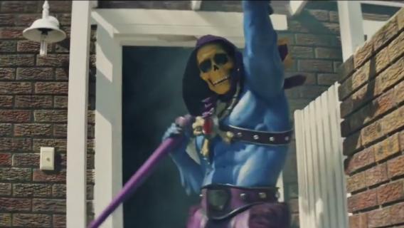 Tańczący Szkieletor z Władców Wszechświata – zobacz zabawną reklamę