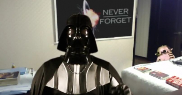 BB-8 przerywa wywiad Lorda Vadera – kapitalna parodia słynnego już wideo