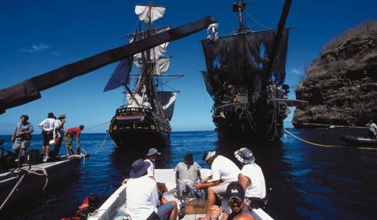 Powrót do przeszłości: Zobacz zdjęcia z planu serii Piraci z Karaibów