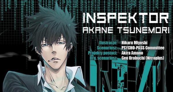 Inspektor Akane Tsunemori, tom 1 – recenzja mangi